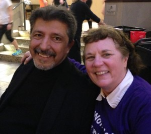 Lorenzo Sandoval and Marilyn Van Ausdall