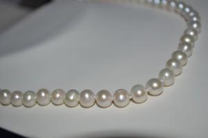 Classy ladies wear pearls - not sweats. I love dressing up.
