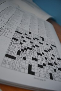 It'll be a good day when I finish the crossword puzzle in 10 minutes.