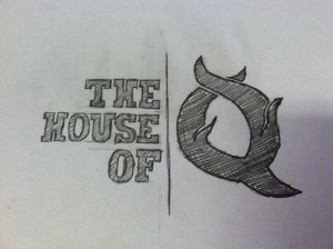 A reoccurring theme for this blog - every restaurant I visit, I'll spend an hour doodling up a logo approach.