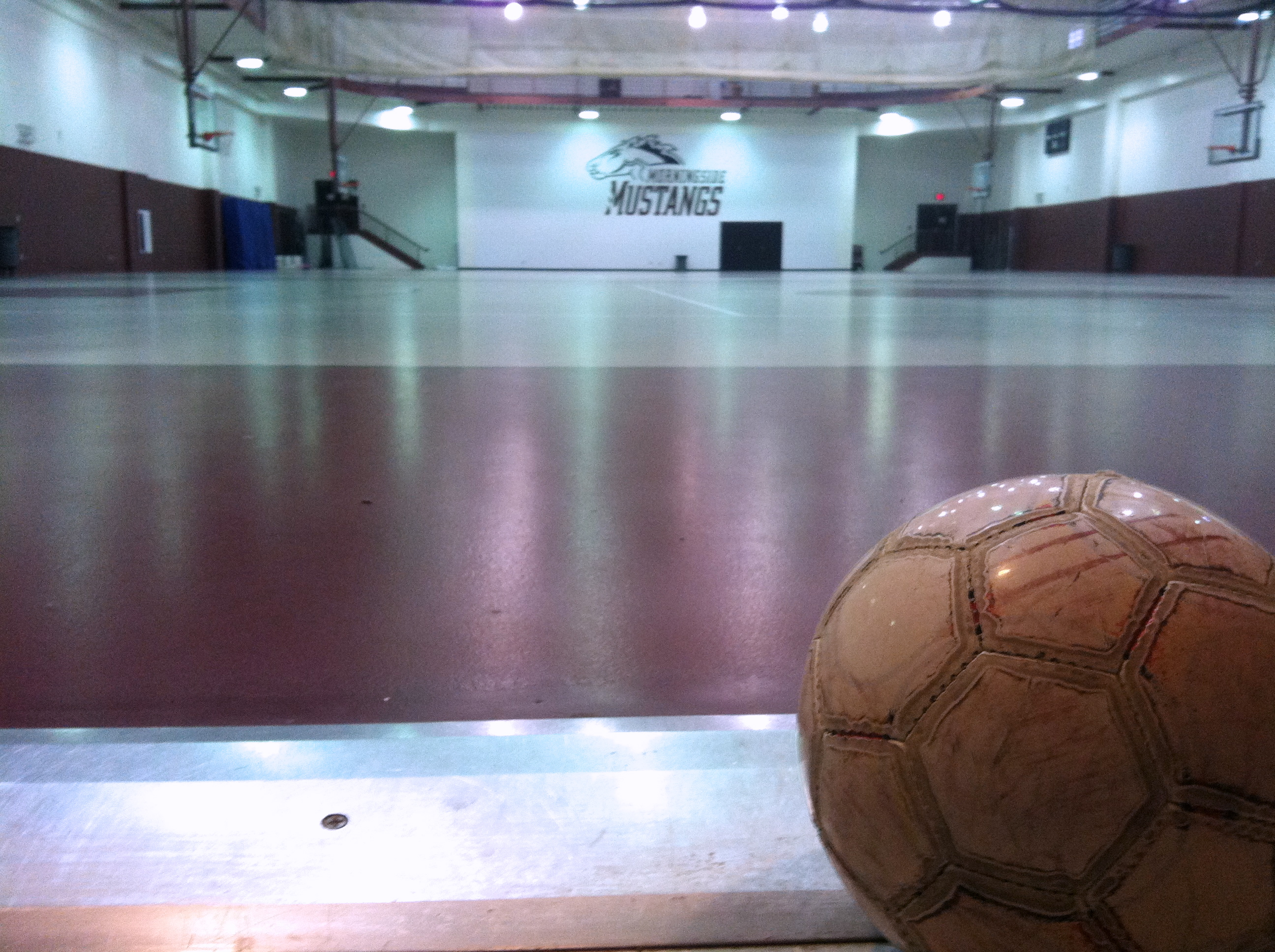 One of the favorite parts of my Monday. I retired earlier this year from the Morningside Soccer team, but recently I've been warming up before my workouts with a soccer ball. It's been a nice release.