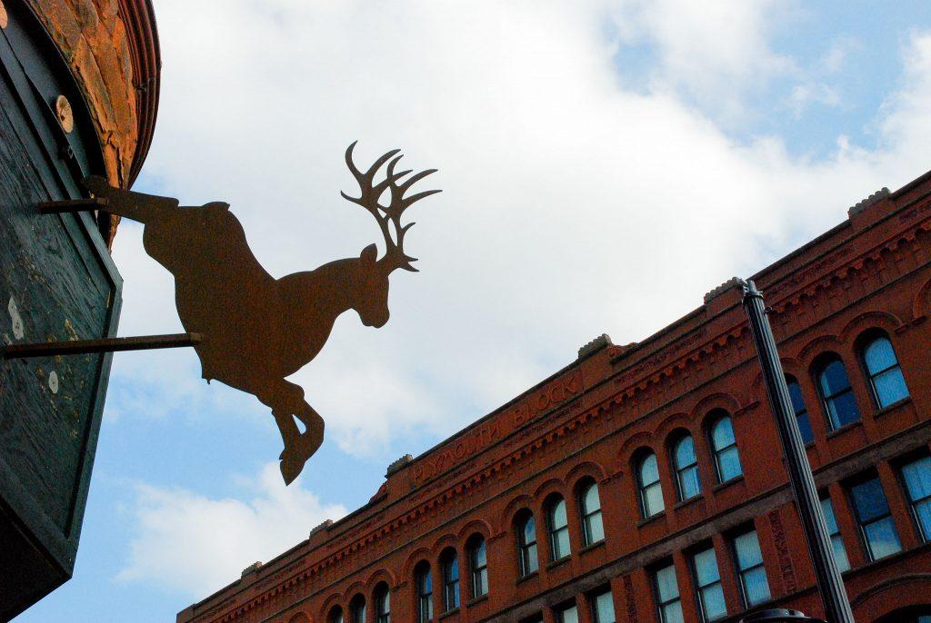 Deer Jump by Iandra Estupinian