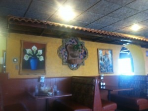 Tasteful Mexican decor