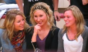 Rachel Eisenbraun, Taylor Hatting, Renee Van Beaumont