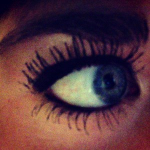3. I spend approximately thirty minutes each morning putting on my mascara.