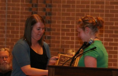 ODK holds honors convocation, presents Tommeraasen Award