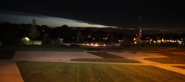 Storms hit Sioux City, Morningside not spared