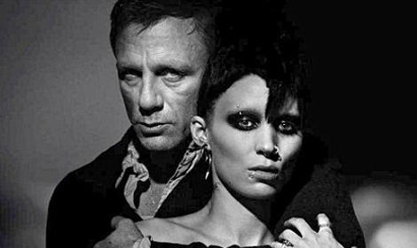 James Bond takes on The Girl with the Dragon Tattoo