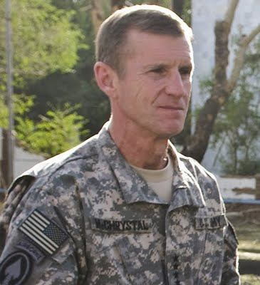 General McChrystal visits Morningside