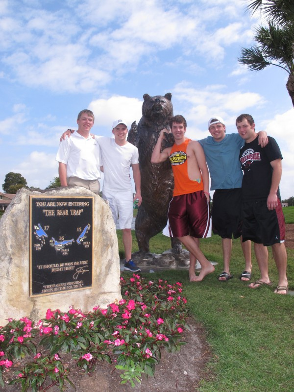 "Golf team enjoys Florida ""Spring Break"""