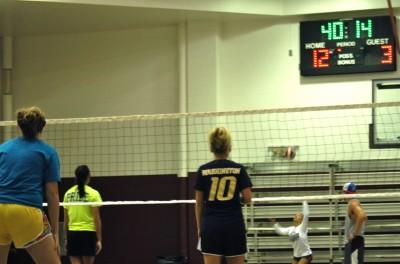 Intramural volleyball reaches final week
