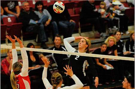 Mustang volleyball starts conference play