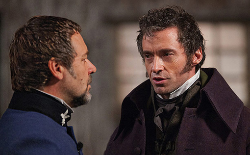 Les Miserables out on DVD this week