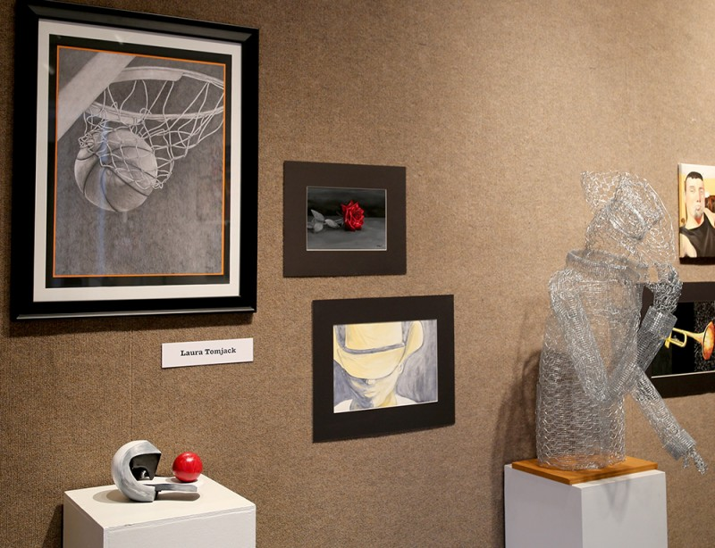 Sophomores featured in Morningside Gallery
