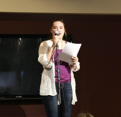 Poetry Slam Pictures and Results