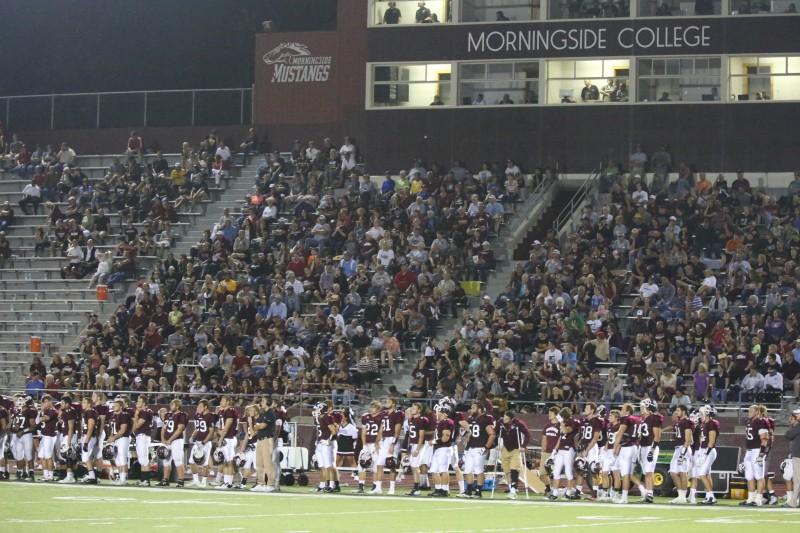 Mustang Football Defeats Dordt 72-2 (Photos)
