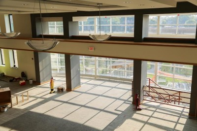 HJF Learning Center: Remodel Work in Progress (photos)