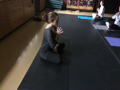 Mass Comm Student Finds Strength through Yoga