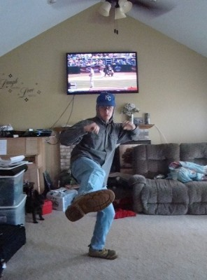 Biggest Royals Fan on Campus Cheers Team to World Series