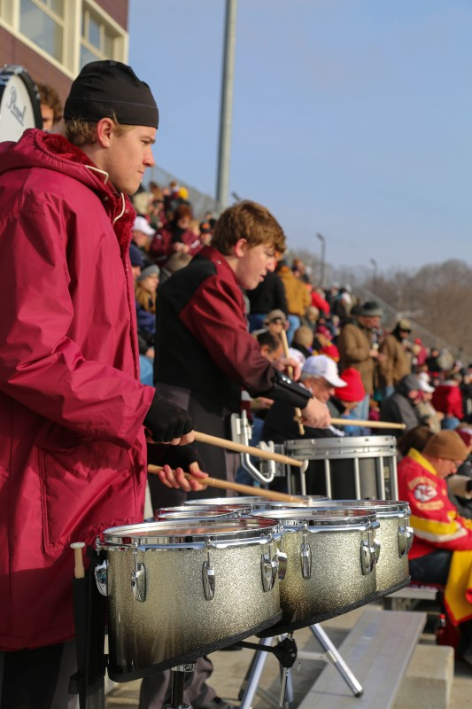 Marching Mustangs conclude first season (Photos)