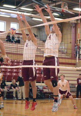 Men's VB wins opener (photos)