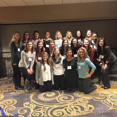 Students Attend Iowa Women Lead Change Conference