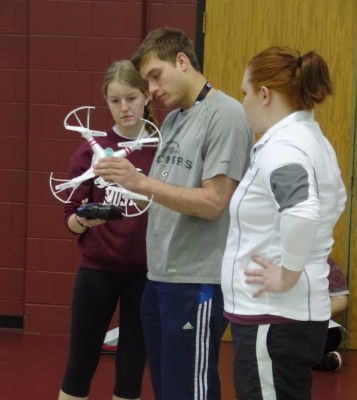 Morningside's Drone Piloting Course Takes Off