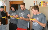 Basketball players at Clare Guest House