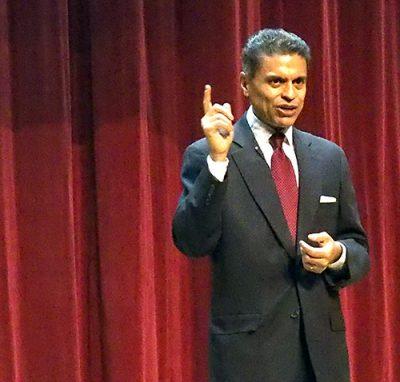 Waitt Lecture: Zakaria delivers upbeat message