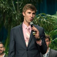 Morningside senior makes his pitch