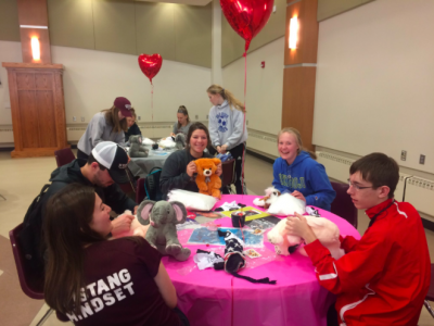 Morningside Activities Council (MAC) Hosts Annual Stuff-A-Bear on Campus Tuesday, February 14th