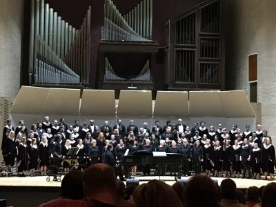 Siouxland Choirs Receive Standing Ovation at Heritage of American Folk Music Concert