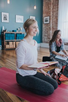 Nursing Major Sarah Yankowski Completes Yoga Teacher Training