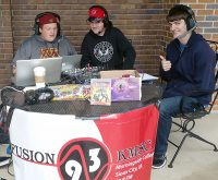 (L-R) Nathan Hoogland, Jon Covert, and Daniel Ver Steeg