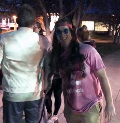 Students challenged by Halloween scavenger hunt