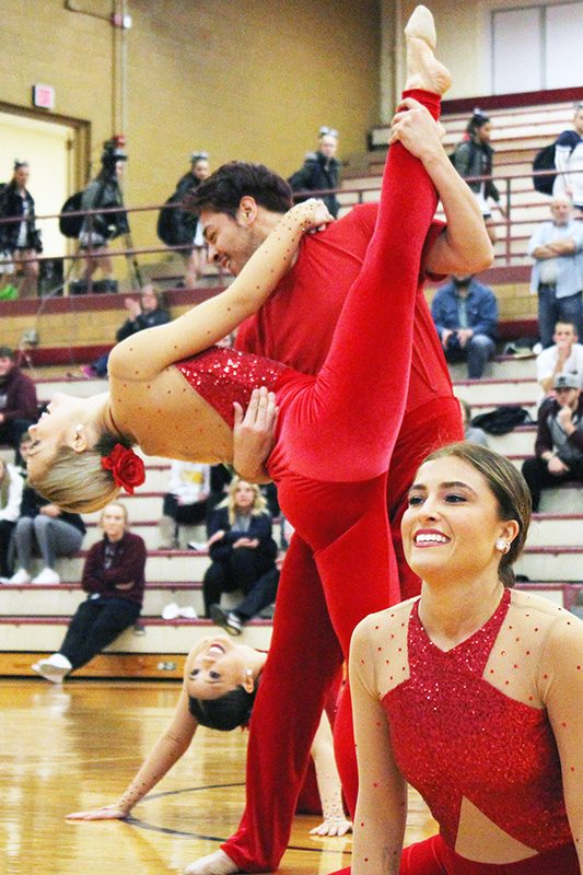 Morningside Dance and Cheer spins out Concordia