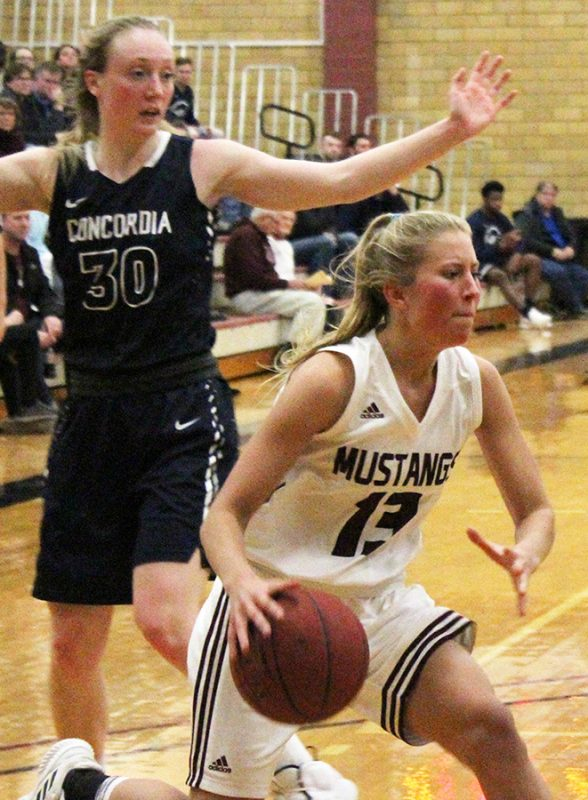 Morningside basketball splits with Concordia