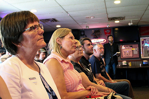 Montana's Bullock campaigns in Sioux City