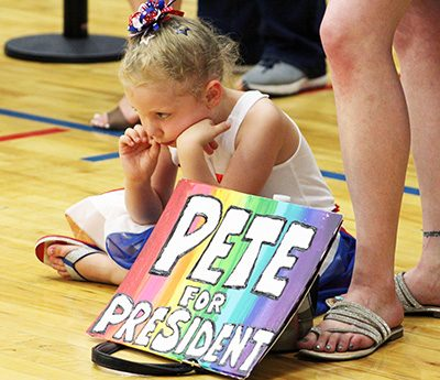 Mayor Pete campaigns in Sioux City