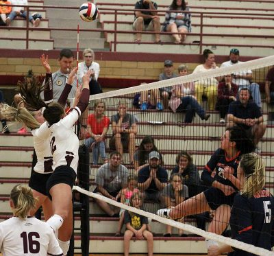 Mistakes lead to Mustang volleyball loss