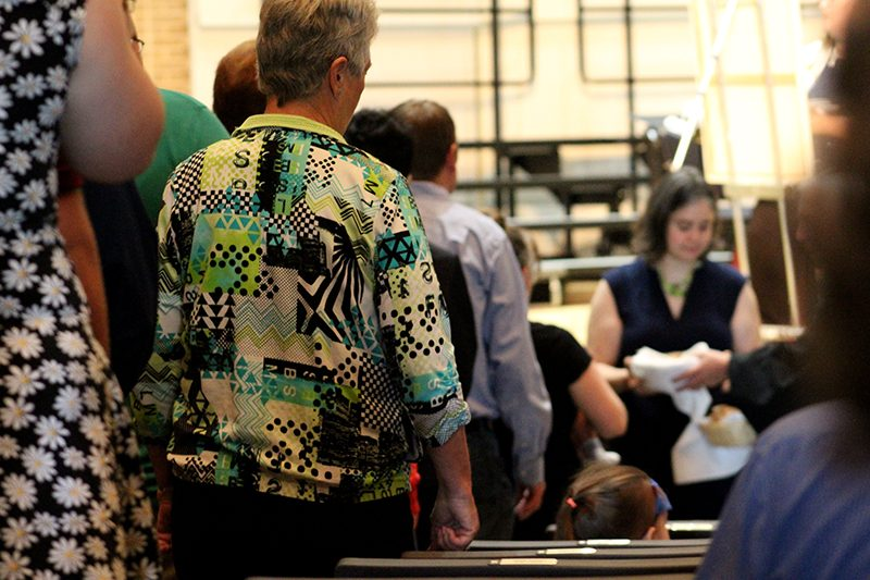 "Homecoming worship service delivers ""Loving God, Loving Neighbor"" sermon"