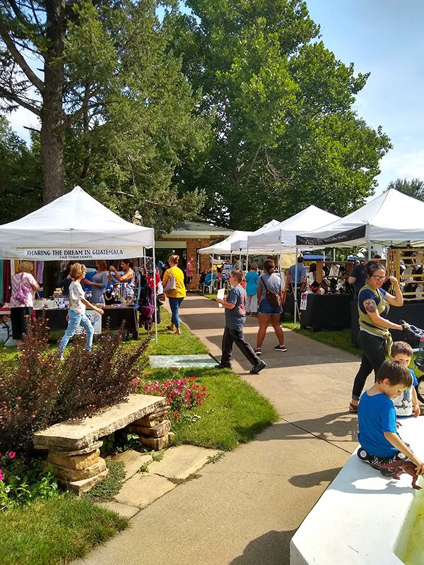Art in the Park returns with variety for the family