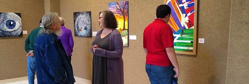 Morningside Alumni Art Show: art past graduation