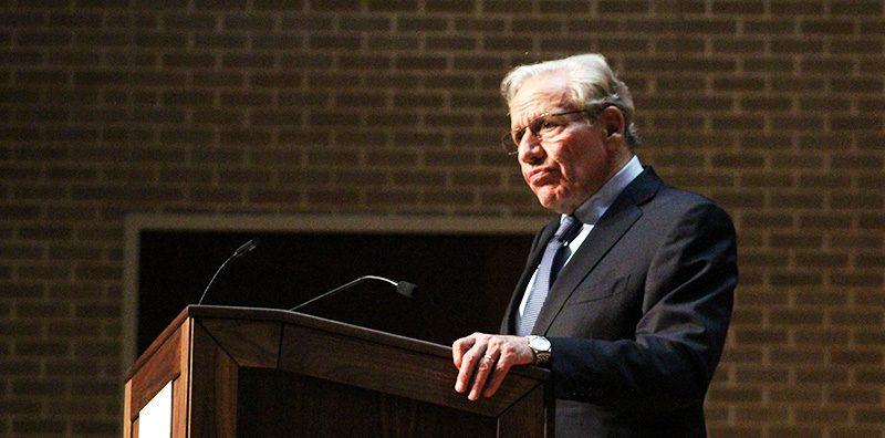 Waitt Lecture: Woodward connects Nixon, Trump