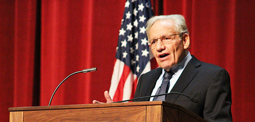 In the room with Bob Woodward