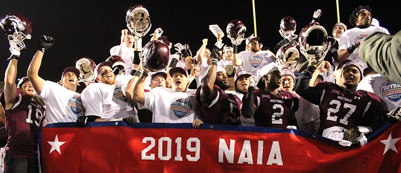 Mustangs become back to back national champions