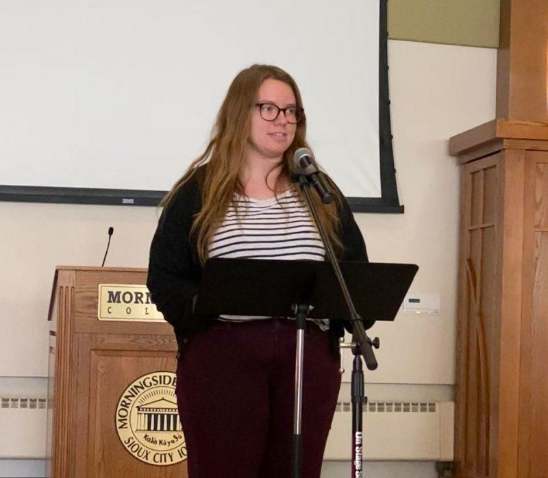 Van Vliet shares her faith