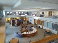 A quiet campus