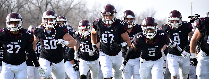Mustangs claim 10th GPAC title with 57-0 win over Hastings (Photos)