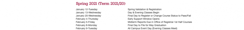 Morningside Announces Regular Spring Semester